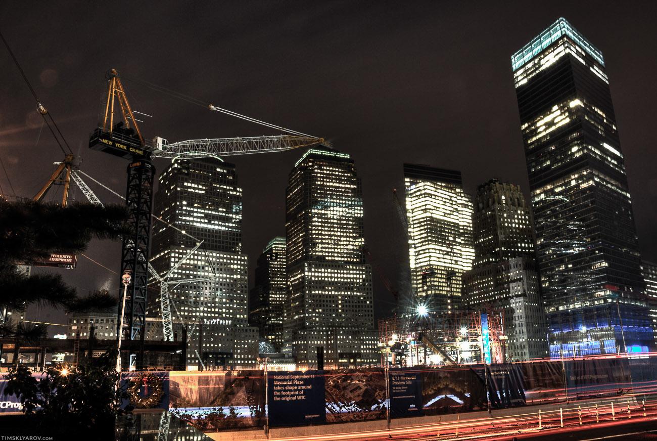 Тут через несколько лет появится новая башня WTC.