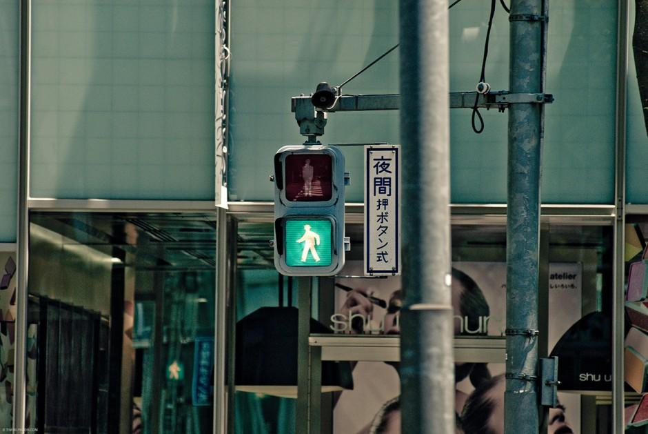 Лебедеву в Токио бы понравилось. Светофоры - на любой вкус.