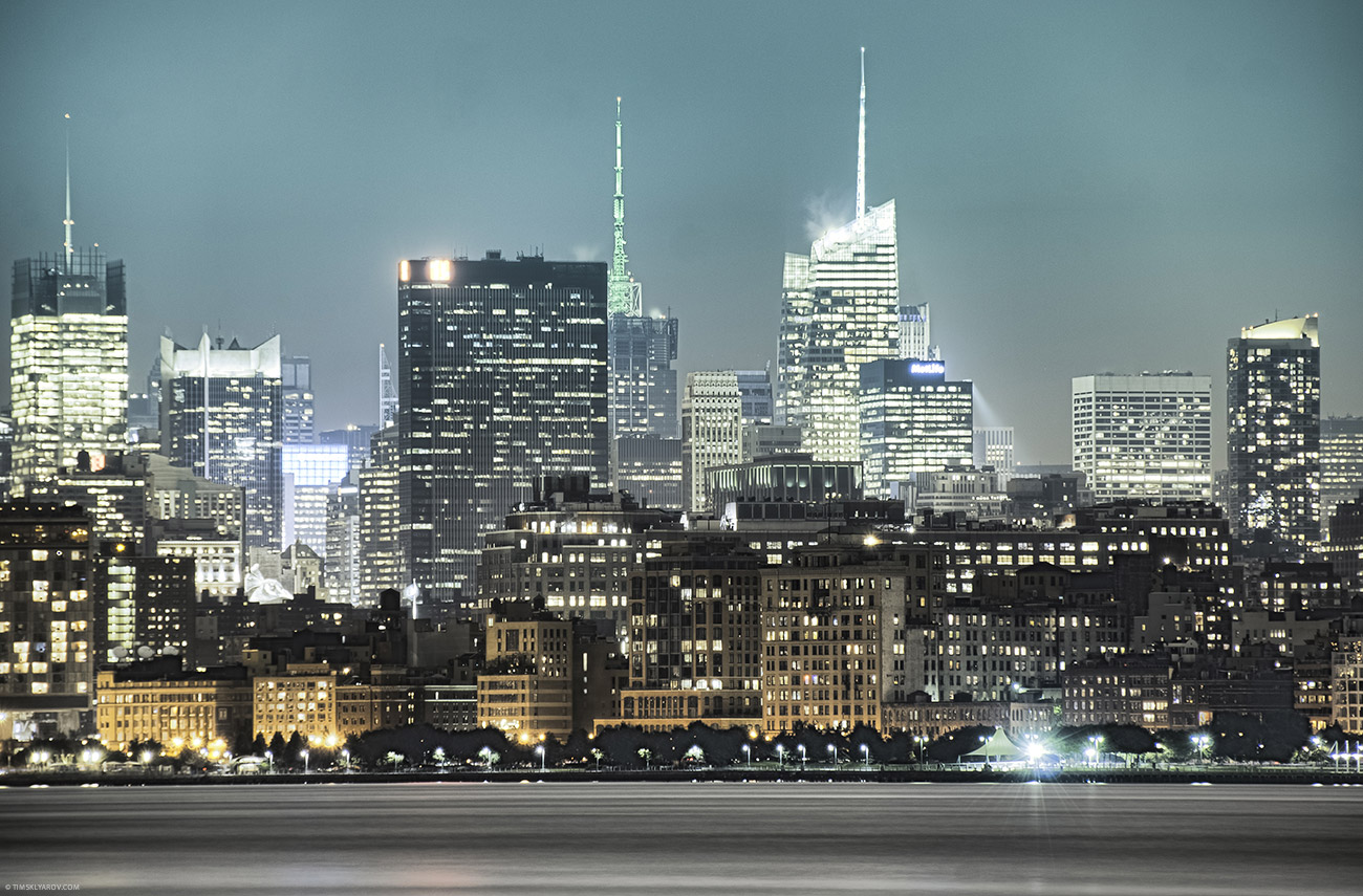 New York City from Jersey