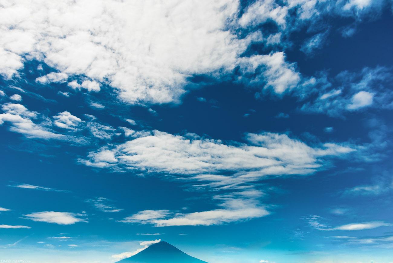 Вулкан Фуджи-сан.