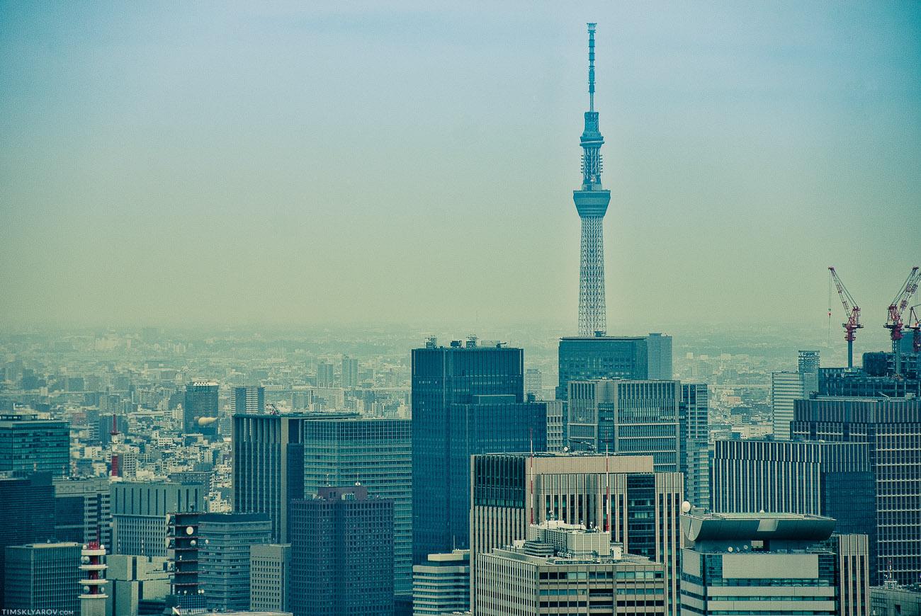 А это Tokyo Skytree. На данный момент самое высокое сооружение в Токио и Японии вообще. 634 метра.