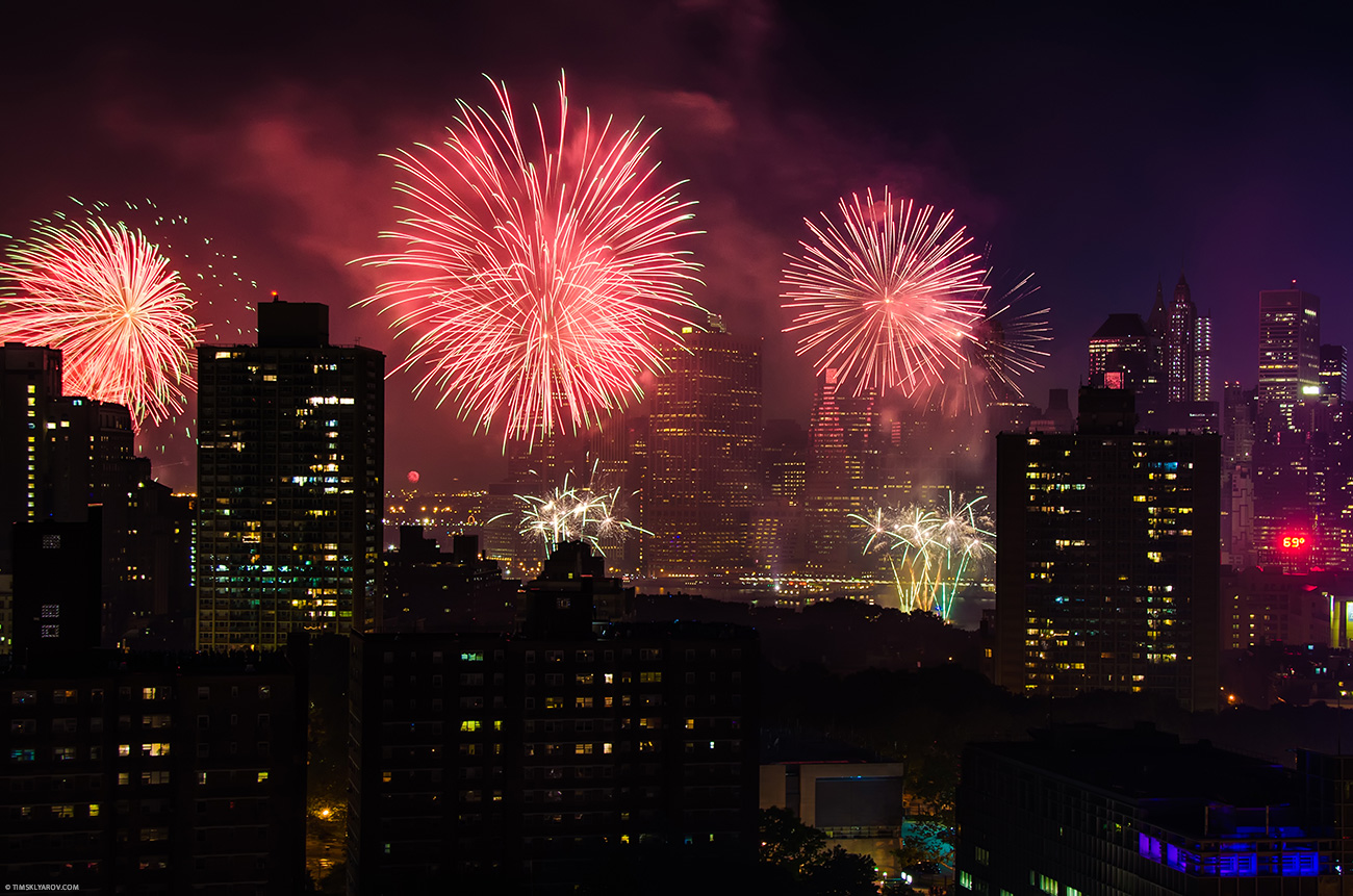 4th of July Fireworks New York City