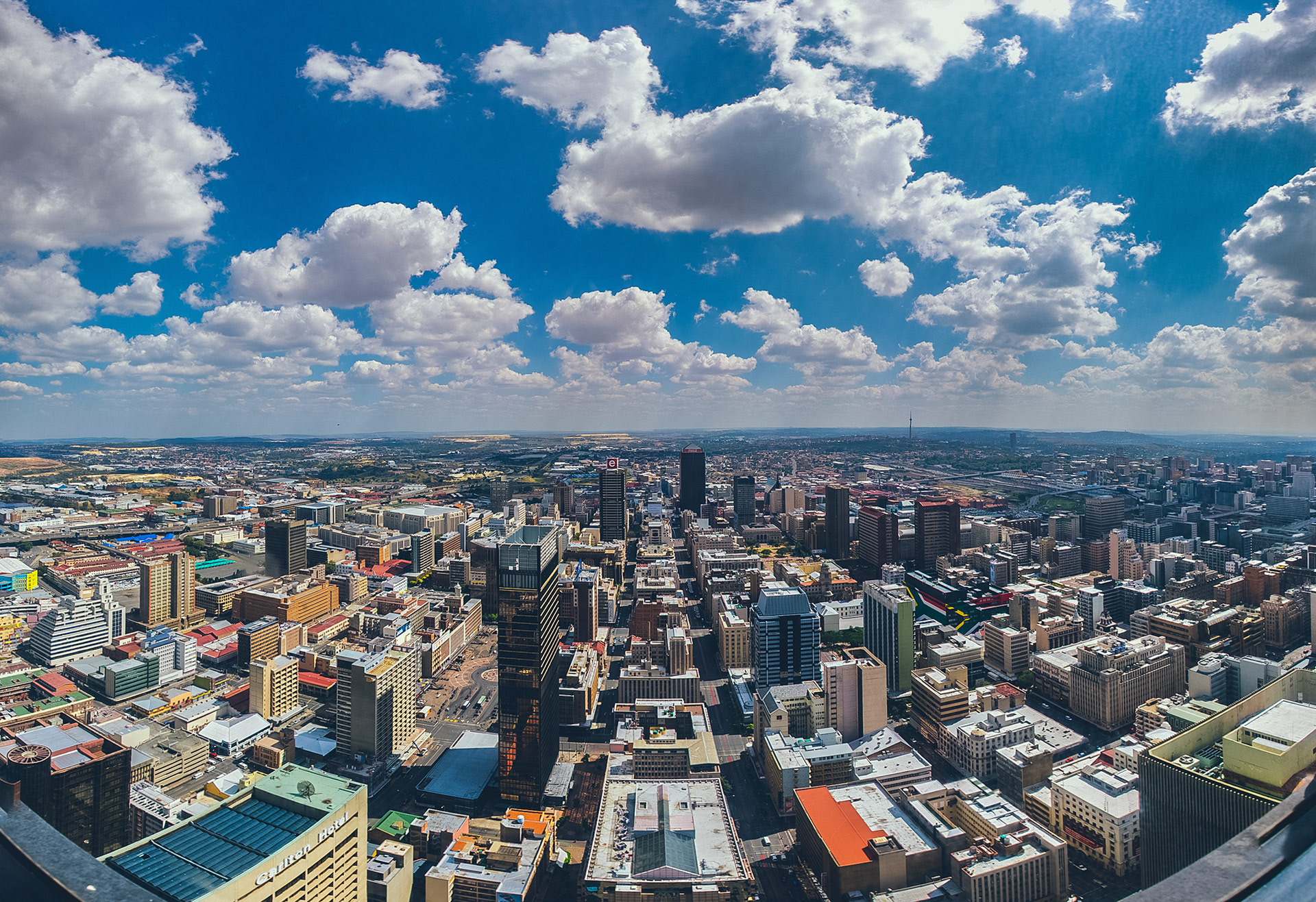 Johannesburg, Carlton Center, South Africa