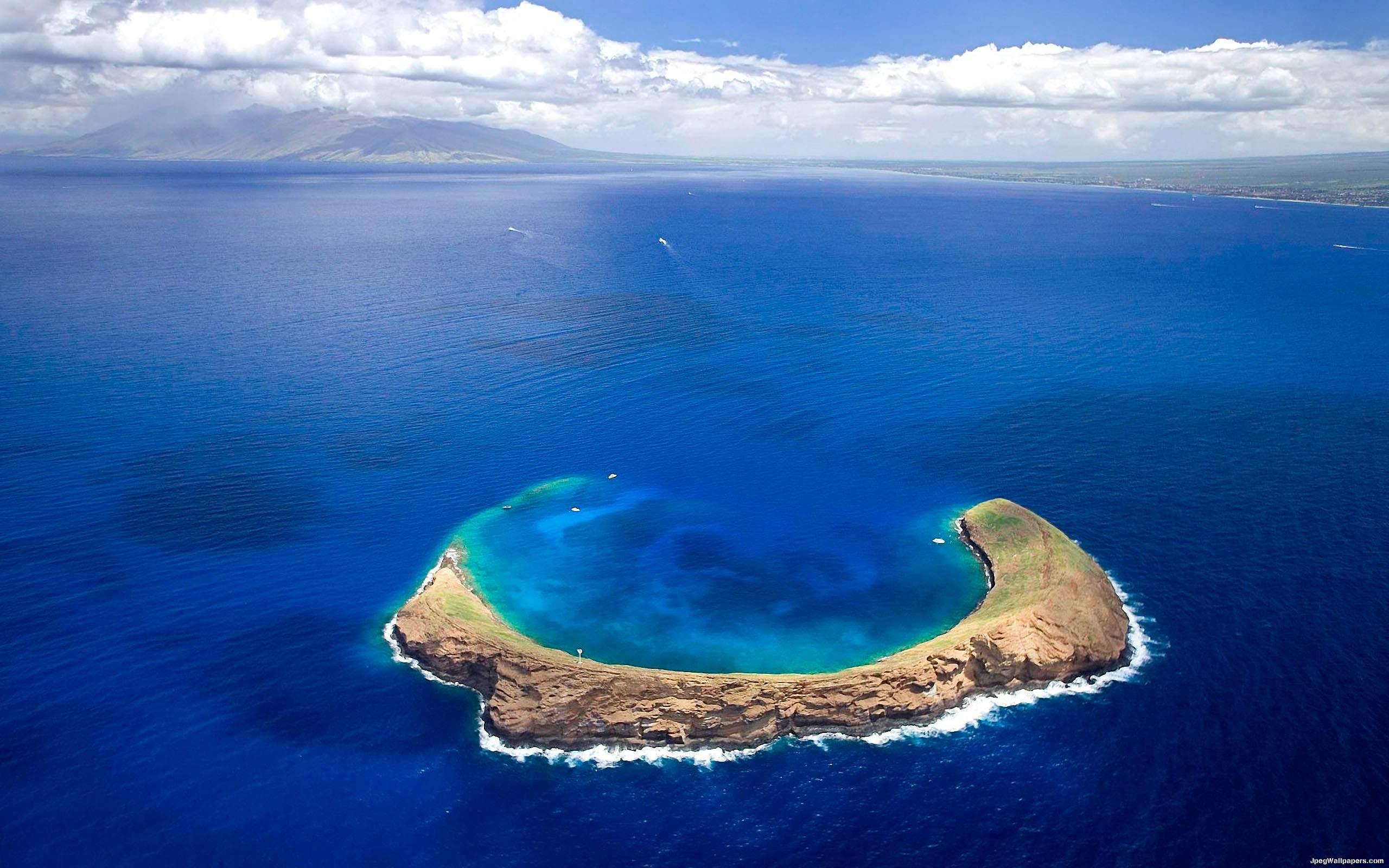 Кратер Молокини, Гавайи